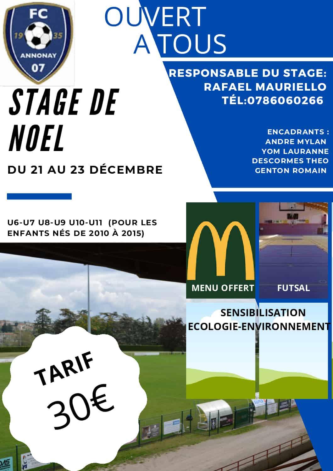Stage de Noel